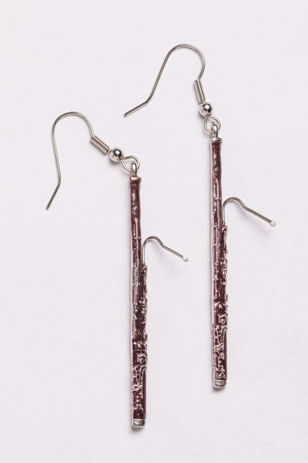 Bassoon Earrings