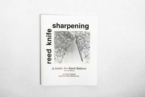 "Book - Reed Knife Sharpening Book"" By Daryl Caswell"""
